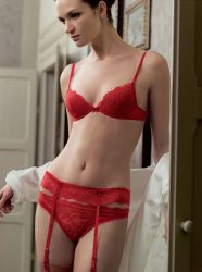 Spitze all over: La Perla Glamour