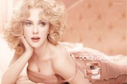 Scarlett Johansson - D&G Rose The One