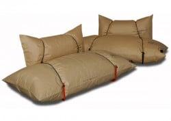 Blow Sofa ist aus 100% Recyclingpapier
