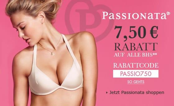 7,50 Euro Gutschein auf Passionata BH's