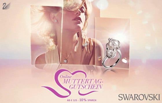 10% Muttertagsgutschein von Swarovski