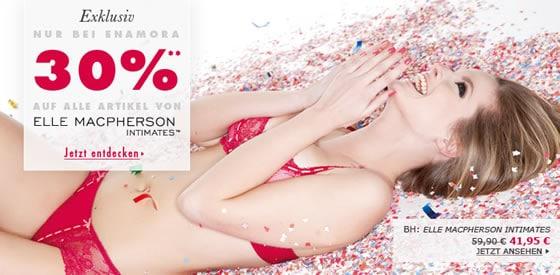 30% Rabatt auf alle Elle MacPherson Produkte