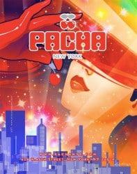 Pacha Nyc & Ibiza werben mit Sussan Zeck