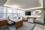 Die moderne ergonomische Büroausstattung
